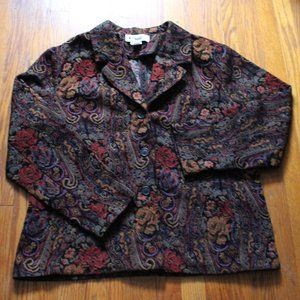 Appleseed's Embroidered Blazer Jacket